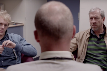 Josh and his dad at the Doctors' - Please Like Me - Screenshot Trailer