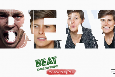 YouTube Thumbnail meiner Rezension der Serie BEAT