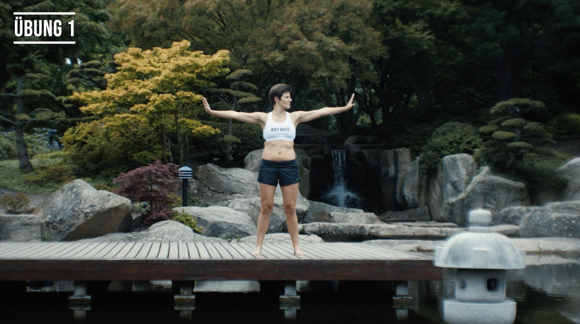 Shaolin Übung aus dem Videokurs